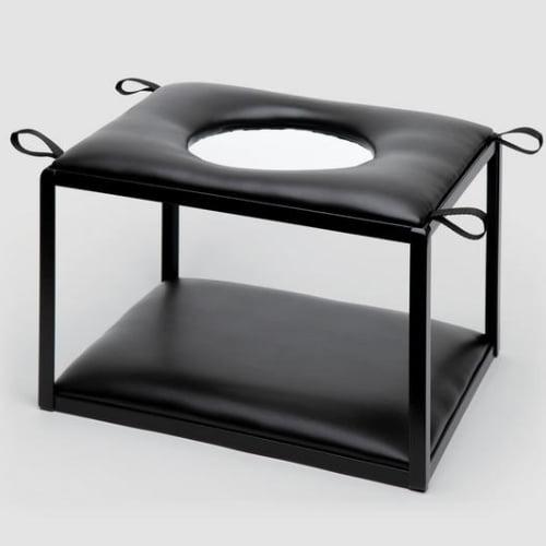 DOMINIX Deluxe Faux Leather Sex Position Enhancer Chair
