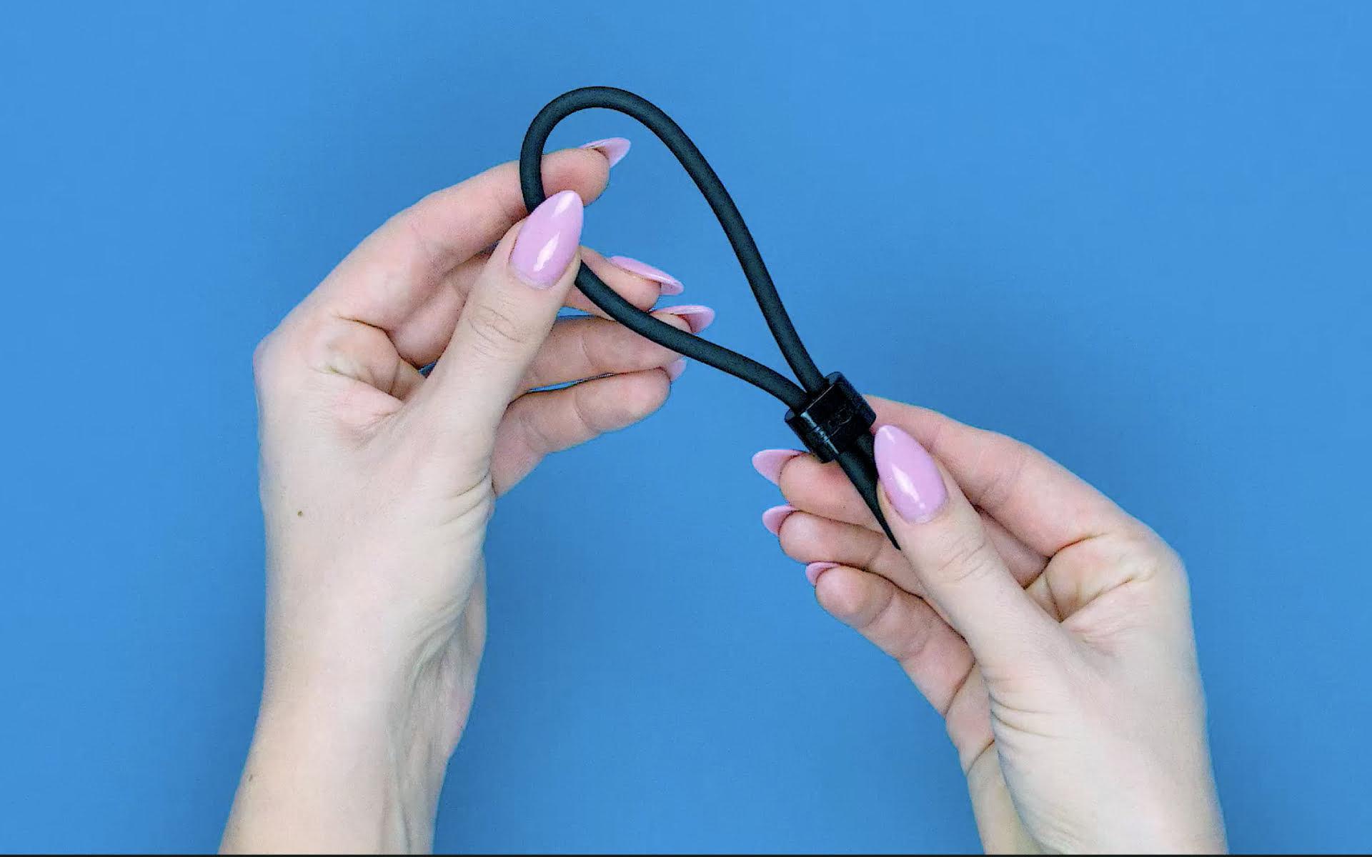adjustable cock ring penis tie